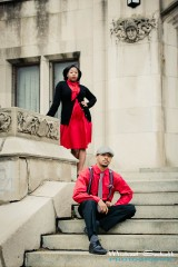 Detroit 20s Style Engagement Session