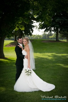 Ann Arbor Marriott at Eagle Crest Wedding